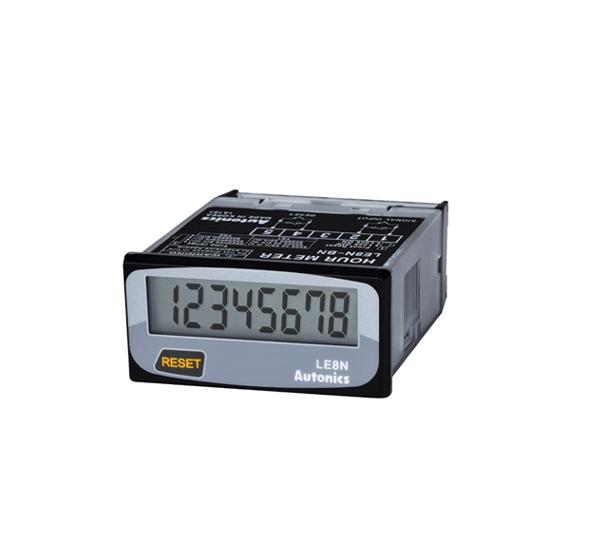 Horometros 8 digitos indicadores Autonics Serie LE8N