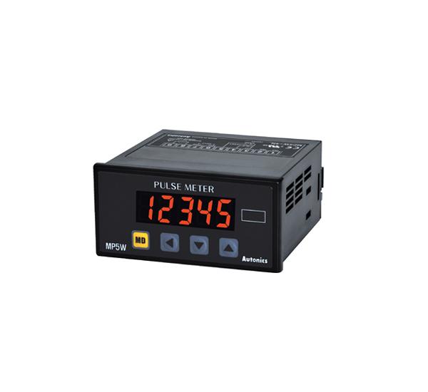 Medidor de Pulsos tacometro 5 digitos autonics Serie MP5W